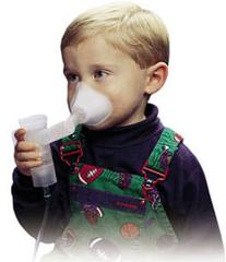 Infant Nebulizer and Face Mask
